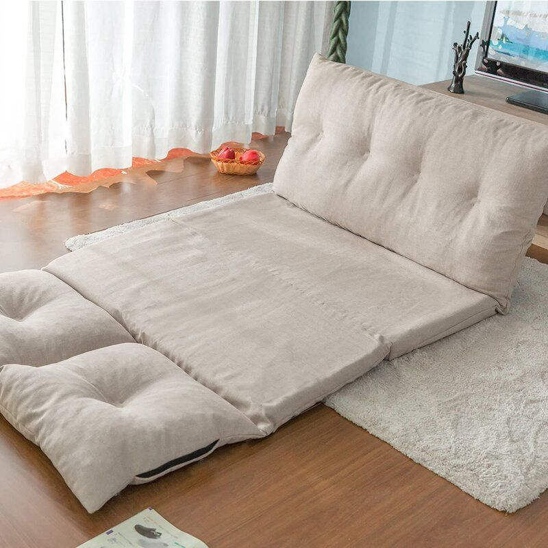 Adjustable Fabric Folding Chaise Lounge Sofa Chair Floor Couch In 2020 Floor Couch Lazy Sofa Gaming Sofa