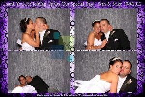Scranton photobooth rental for Wedding Reception at Via Apia in Taylor, PA   NEPA Photo Booth