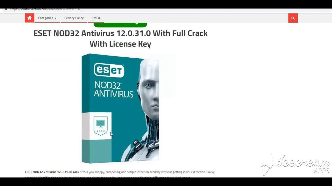 activation key eset nod32 antivirus 12