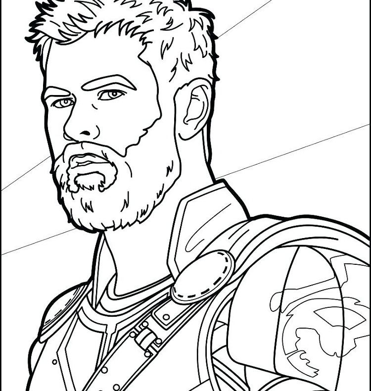 Thor Face Coloring Pages Avengers Coloring Avengers Coloring Pages Marvel Coloring
