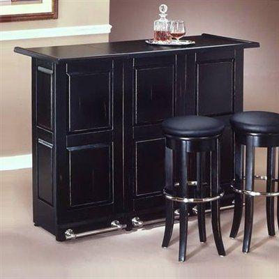 Home Styles 5695 99 Folding Bar Black