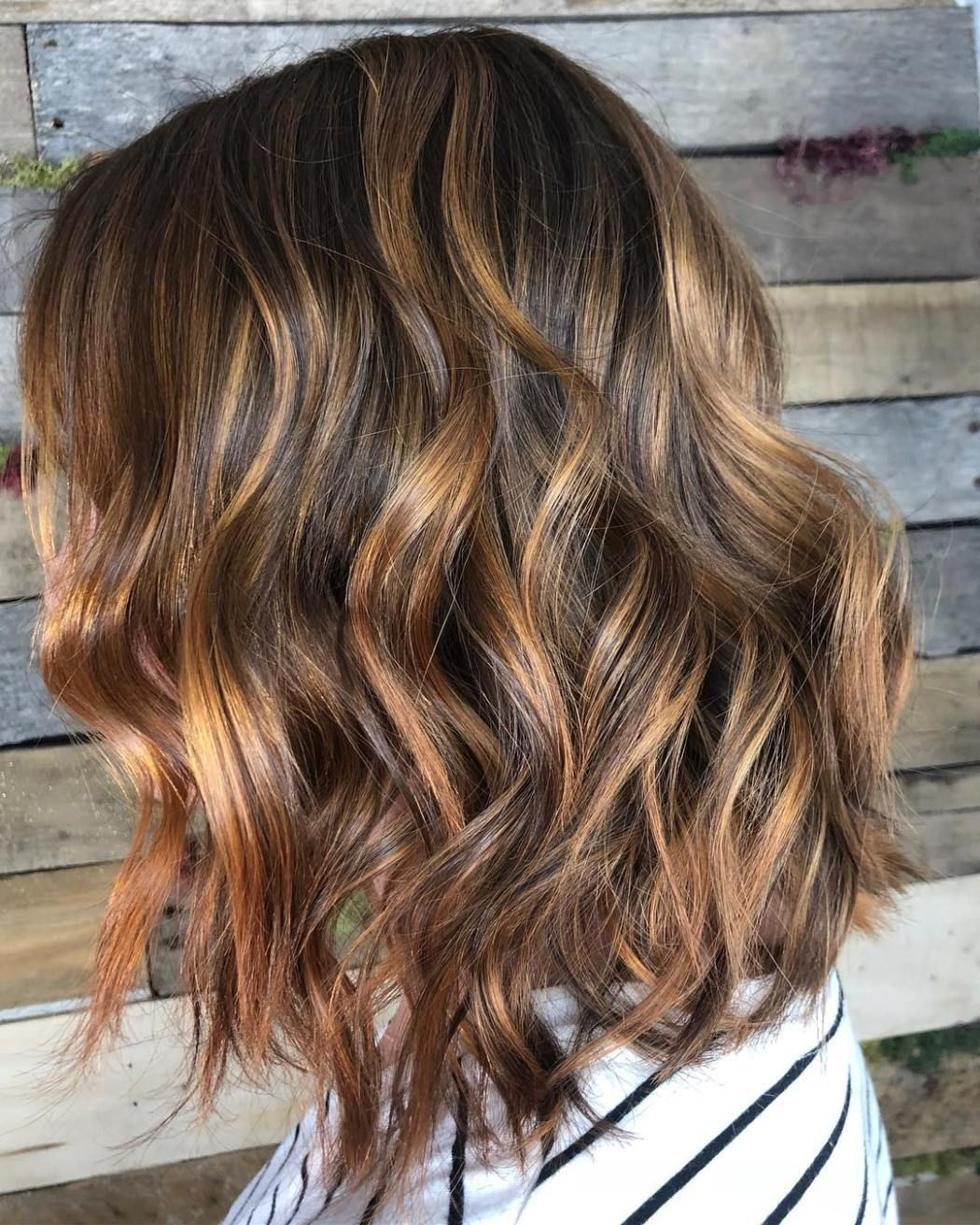 60 Looks with Caramel Highlights on Brown and Dark Brown ... - photo #9