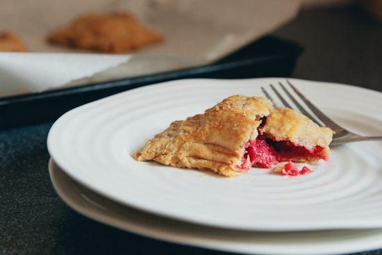 balsamic raspberry hand pies | london bakes
