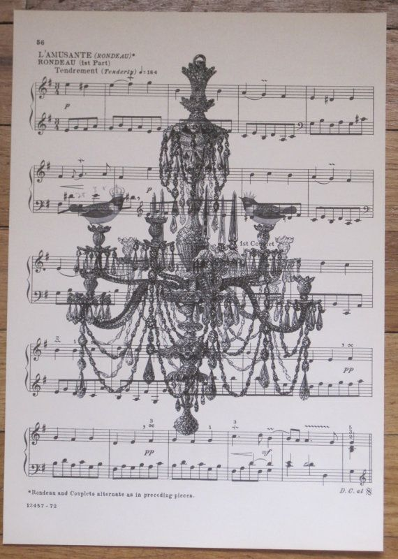 french market style chandelier with birds vintage by OkioBDesigns