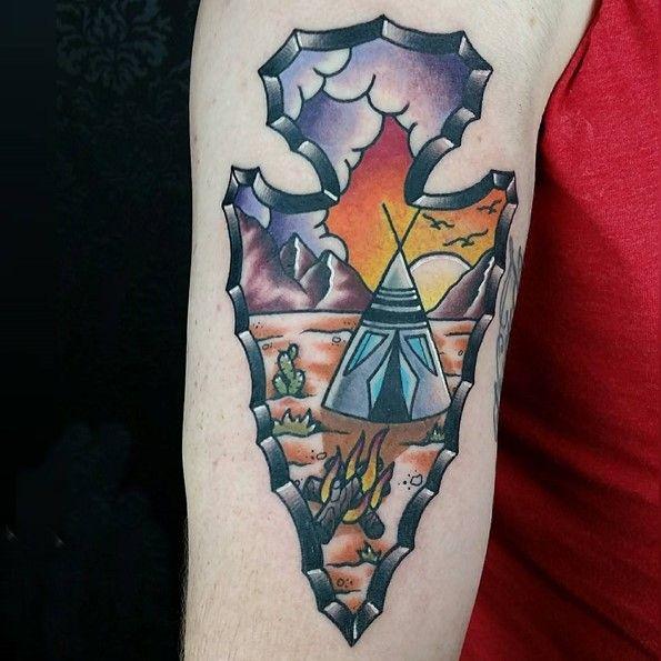 22 best Arrowhead Tattoo images on Pinterest | Symbols, People and ...