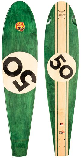KOTA Longboards Nieuport 17 - Healey Racing Edition Longboard in British Racing Green. Customize with your lucky number. Made in the USA. #KOTAgrip