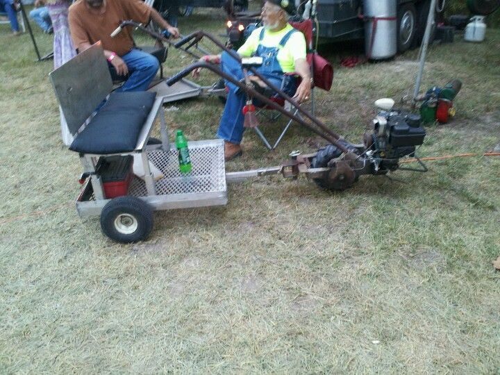 Rototiller Ed Homemade Vehicle