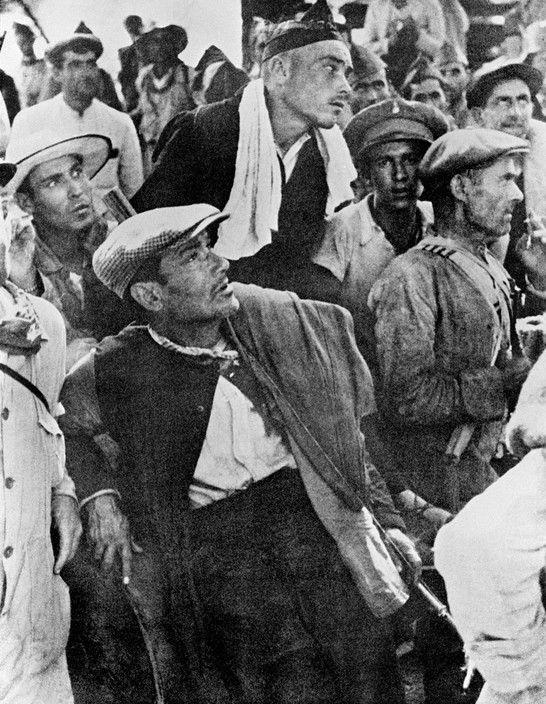 Andalucía.  Frente de Córdoba.  Republicanos.  1936- Robert Capa