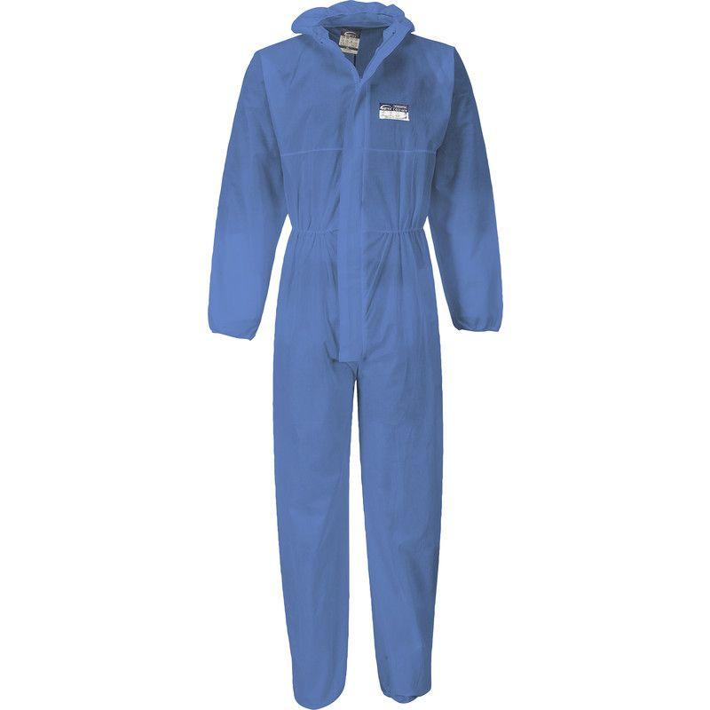 Portwest Wegwerpoverall Xl Blauw Kleding Werkkleding Overalls