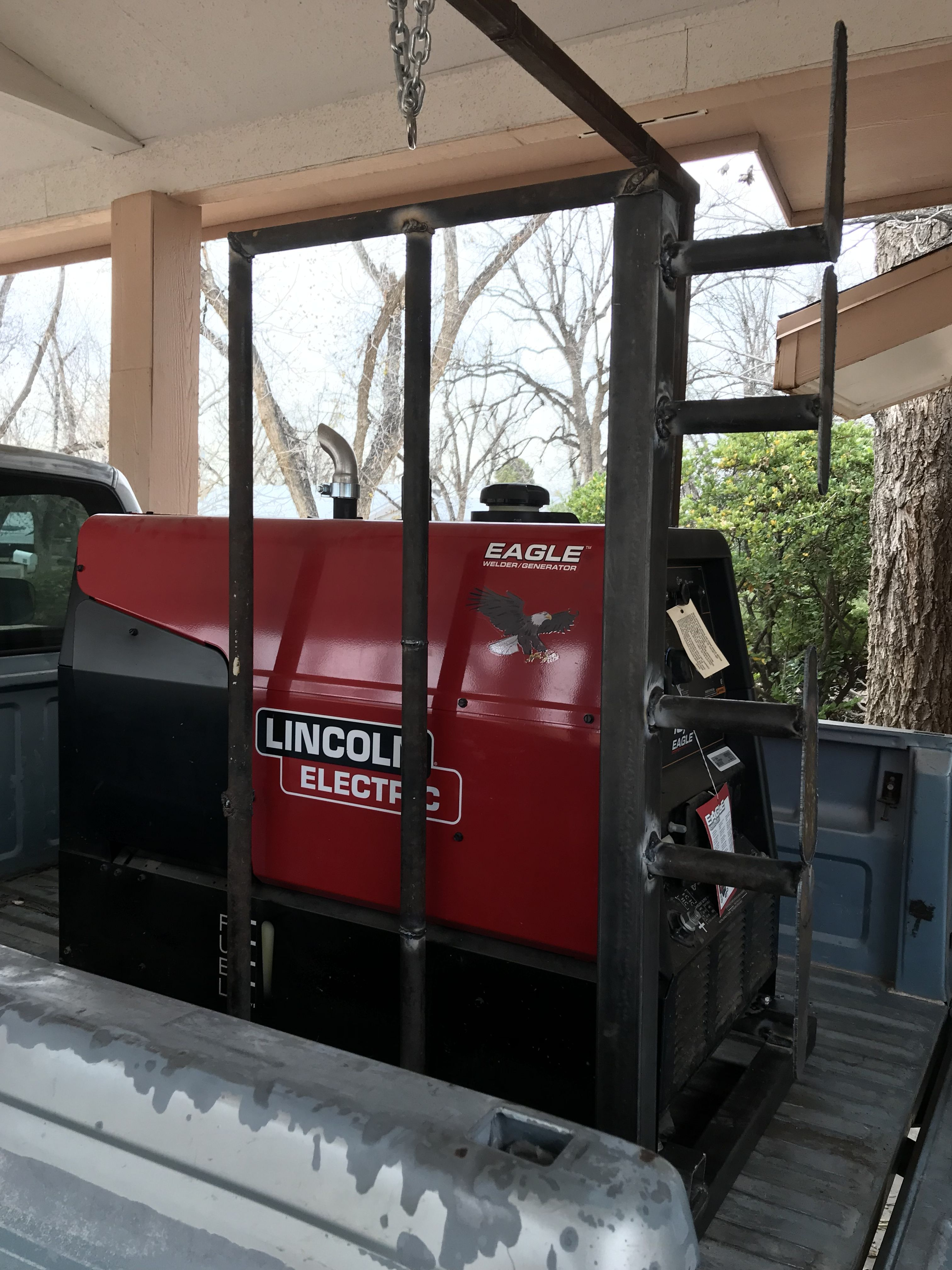 Lincoln Electric Eagle 10000 Welding Skid