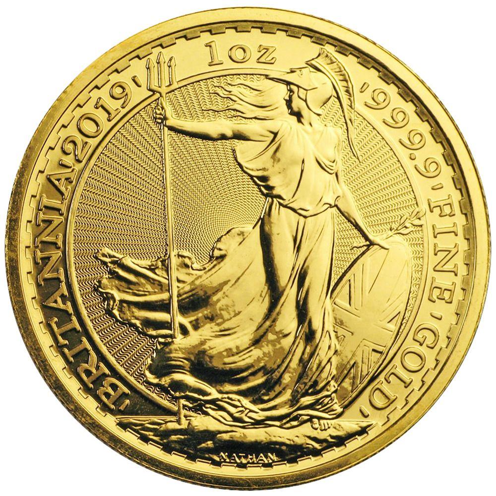 Details About 2019 U K 100 Pound 1 Oz Gold Britannia Brilliant Uncirculated