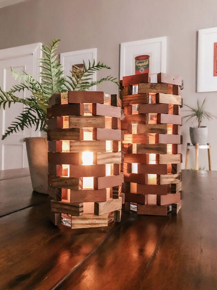 Cheap DIY Home Decor Idea Dollar Store Lantern