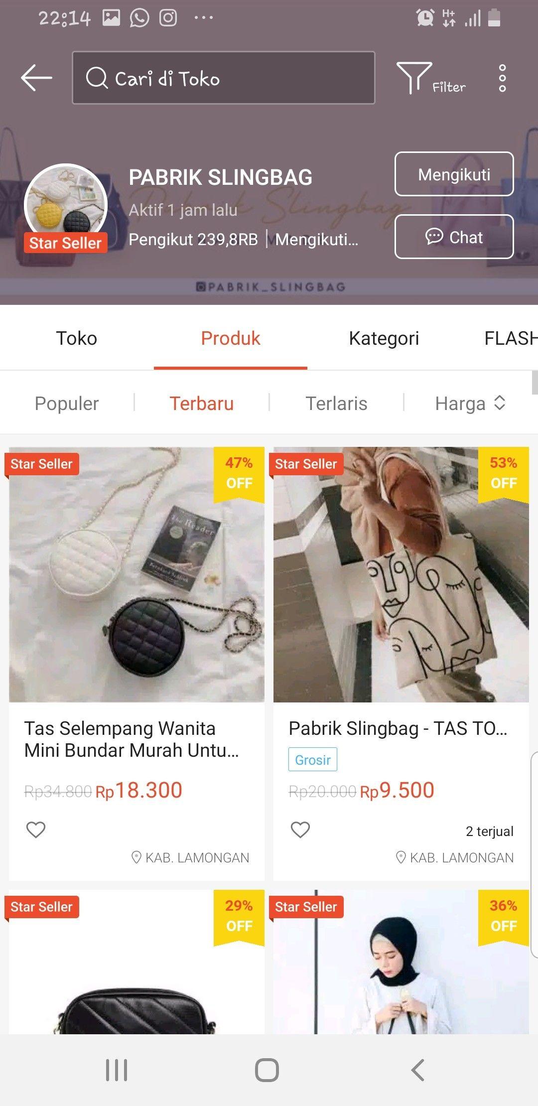 Pin Oleh Aisyah Khulqi Di Online Shopee Termurah Di 2020 Wanita Bergaya Gaya Remaja Seputar Wanita