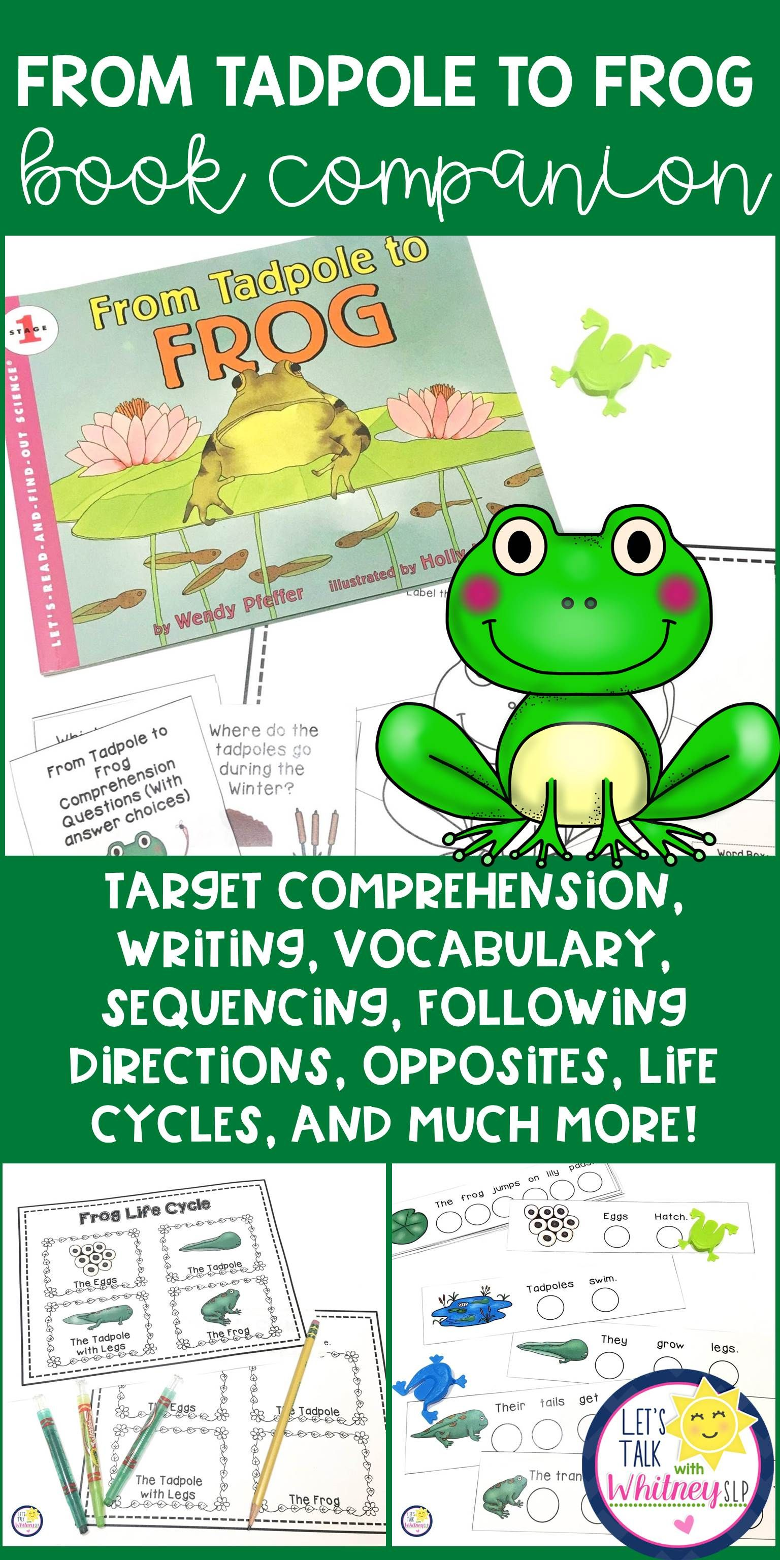 From Tadpole To Frog A Book Companion