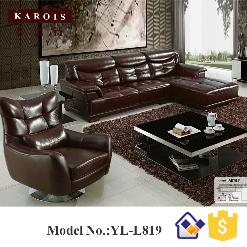 Whole China Online Latest Sectional Corner Sofa Design L Shape 5 Seats Sofas Set Luxury