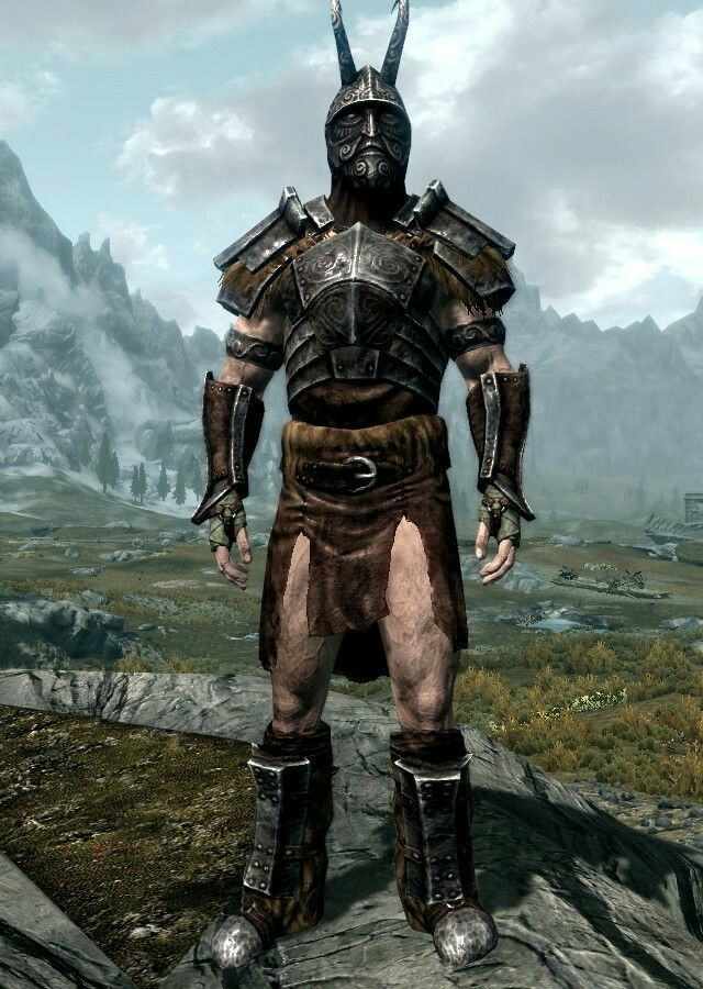 Avatar Of Vile By Histwarrior Ancient Nord Armor Boots And
