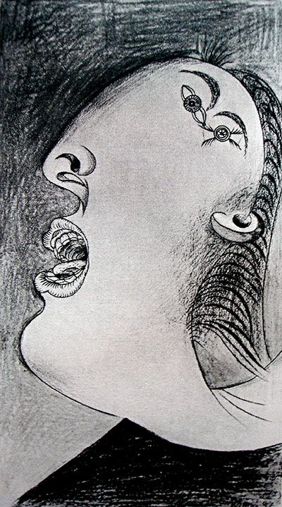 Picasso: Study for Guernica Woman: http://www.pablopicassoguernica.com/projects/picassoguernica/