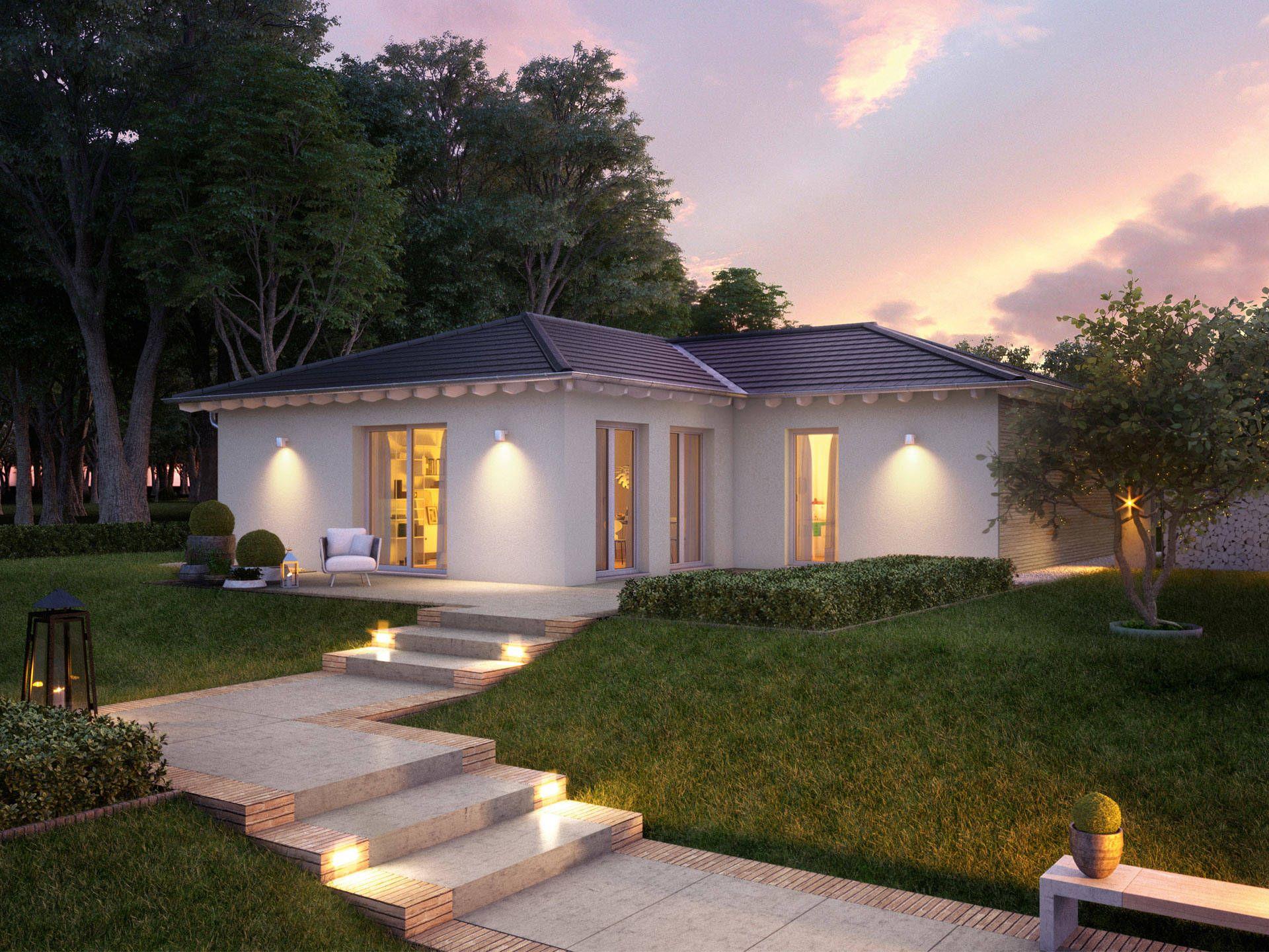 Bungalow Concept 2 0 B • Massivhaus von Ein SteinHaus