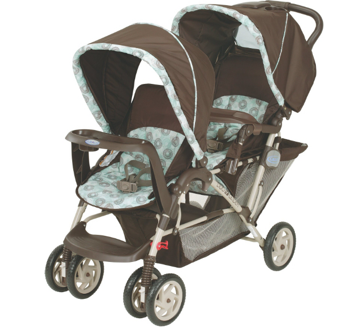 This matches our carseat!! 2 under 2 Graco DuoGlider