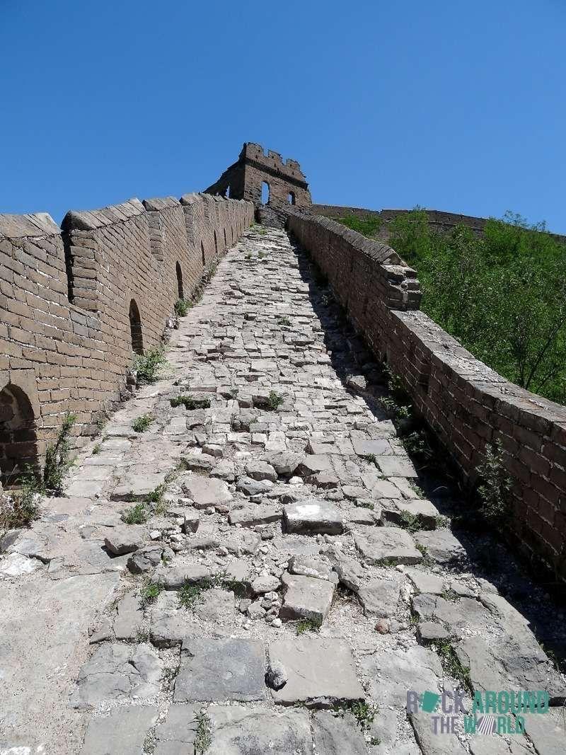 Die Chinesische Mauer Jinshanling Great Wall In Chengde China Chine