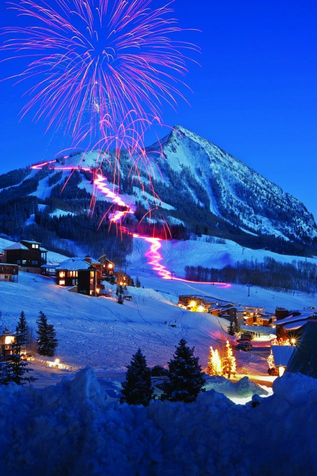 Best destinations for christmas travel aspen colorado for Best winter vacations in the us
