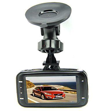 GS8000L Alkuperäinen Glass Lens 1080P Car DVR 2,7 tuuman nestekidenäyttö, jossa on G-anturi NOVATEK – EUR € 22.72