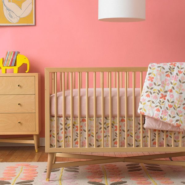 Nursery With Natural Wood Furniture Google Search Natural Crib Wood Nursery Nursery Furniture