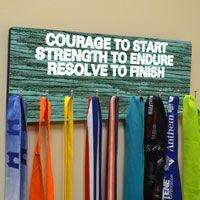 Running Medal Hanger | Race Medal Display | Custom Race Medal Display | Running Medal Frame