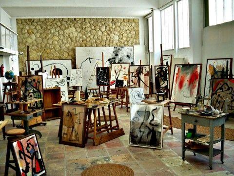 Lo studio di Joan Mirò ricreato a Londra