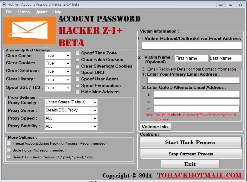 gmail hacker software free download full version