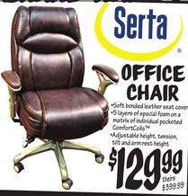 serta office chair from ollieu0027s bargain outlet