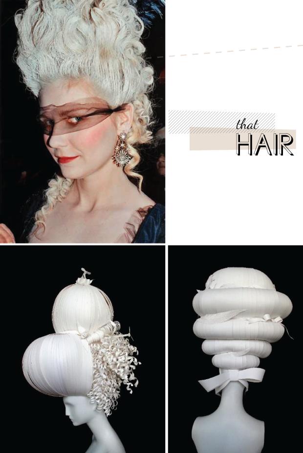 marie antoinette hair art