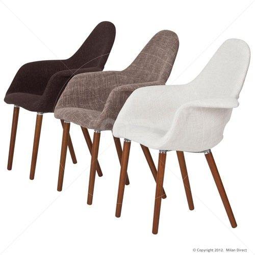 Organic Chair Eames Saarinen Replica   Light Brown   Buy Replica Eames Chair  UK U0026 Organic