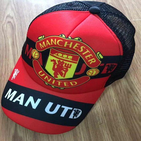 4da23e22336cf0 Manchester United F.C. Football club Cap FÚTBOL Soccer Adults FUSSBALL New  Mens Calcio Baseball Caps Hat Adjustable Snapback Sport Unisex BNWT