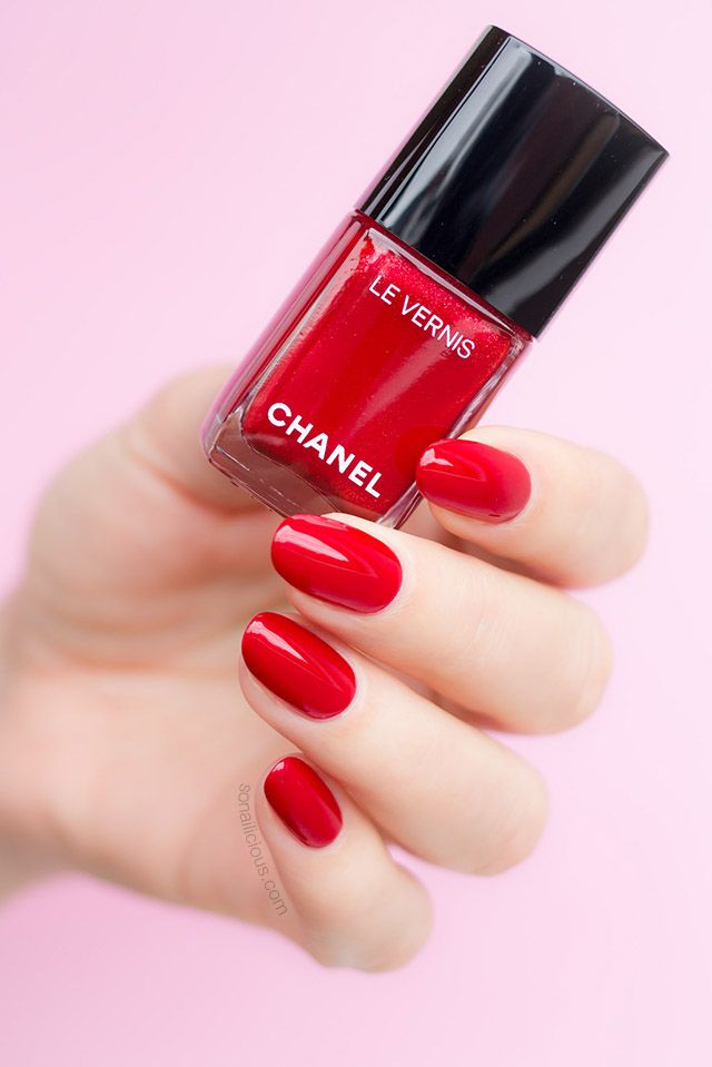 Chanel Flamboyance: The Only Red You'll Need - SoNailicious