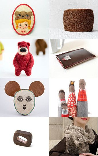 Bears love red berry by Arabela on Etsy--Pinned with TreasuryPin.com