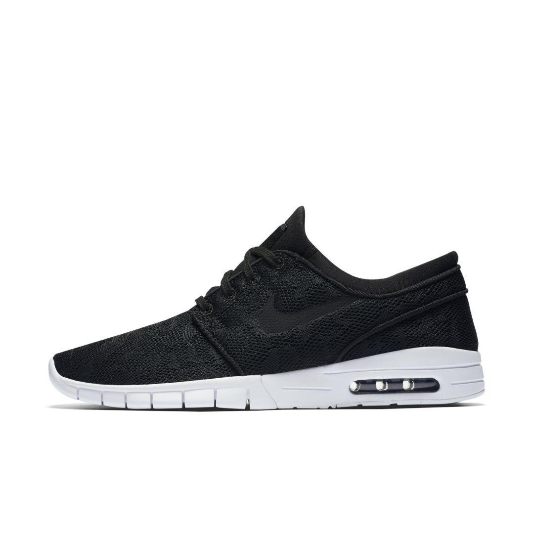on sale dca2b 8c6c7 Nike SB Stefan Janoski Max Men s Skateboarding Shoe Size 5 (Black)