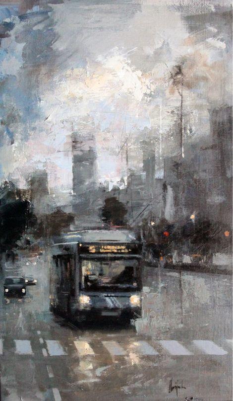 Ricardo Galán Urréjola, Ricardo GBajo un paso elevado - 2012. on ArtStack #ricardo-galan-urrejola #art
