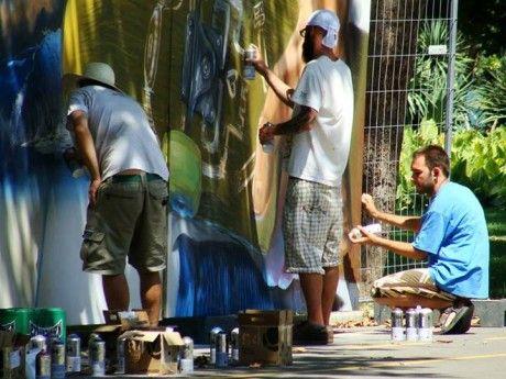 graffiti Second National Roller Fest Burgas