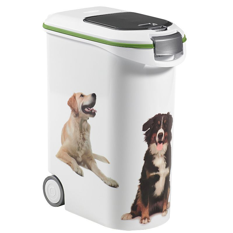 Curver 20kg Dry Dog Food Storage Container Dogs Accessories