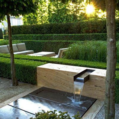 Ideas Y Fotos De Patio Y Jardin De Estilo Otros Estilos Para Inspirarte Habitissimo Paisajismo Moderno Espejo De Agua Jardines De Agua