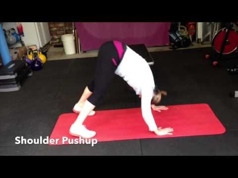 how to do a shoulder pushup http//hillworksau