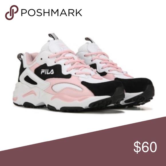 FILA shoes Pink black and white FILA