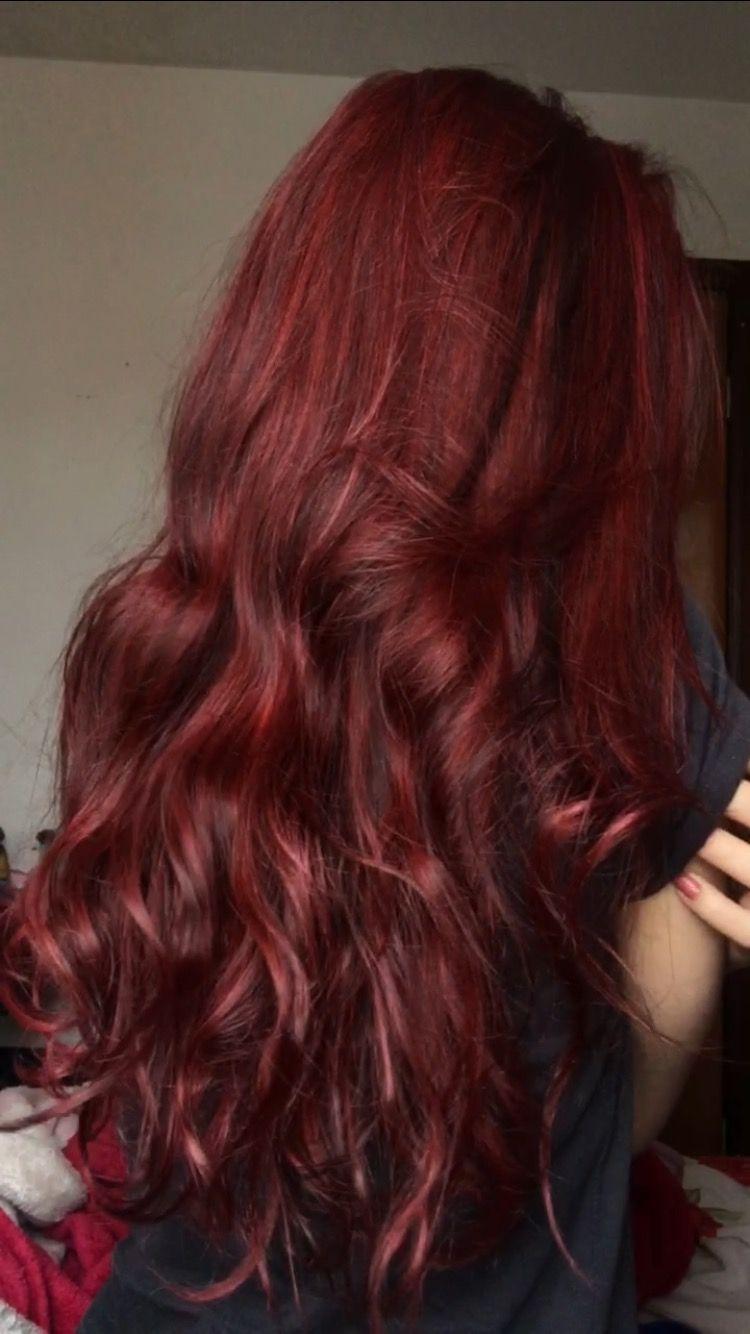 Ruivo Vivance 666 Wine Hair Ginger Hair Dyed Hair