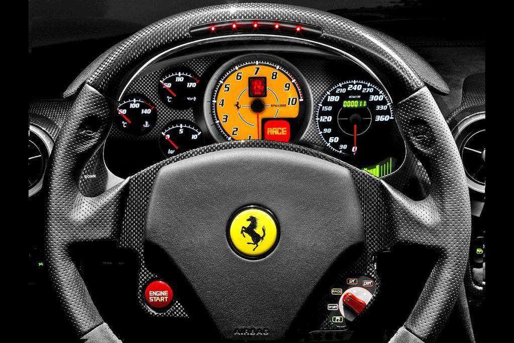 Ferrari F430 Scuderia Interiore Con Imagenes Fotos De Coches