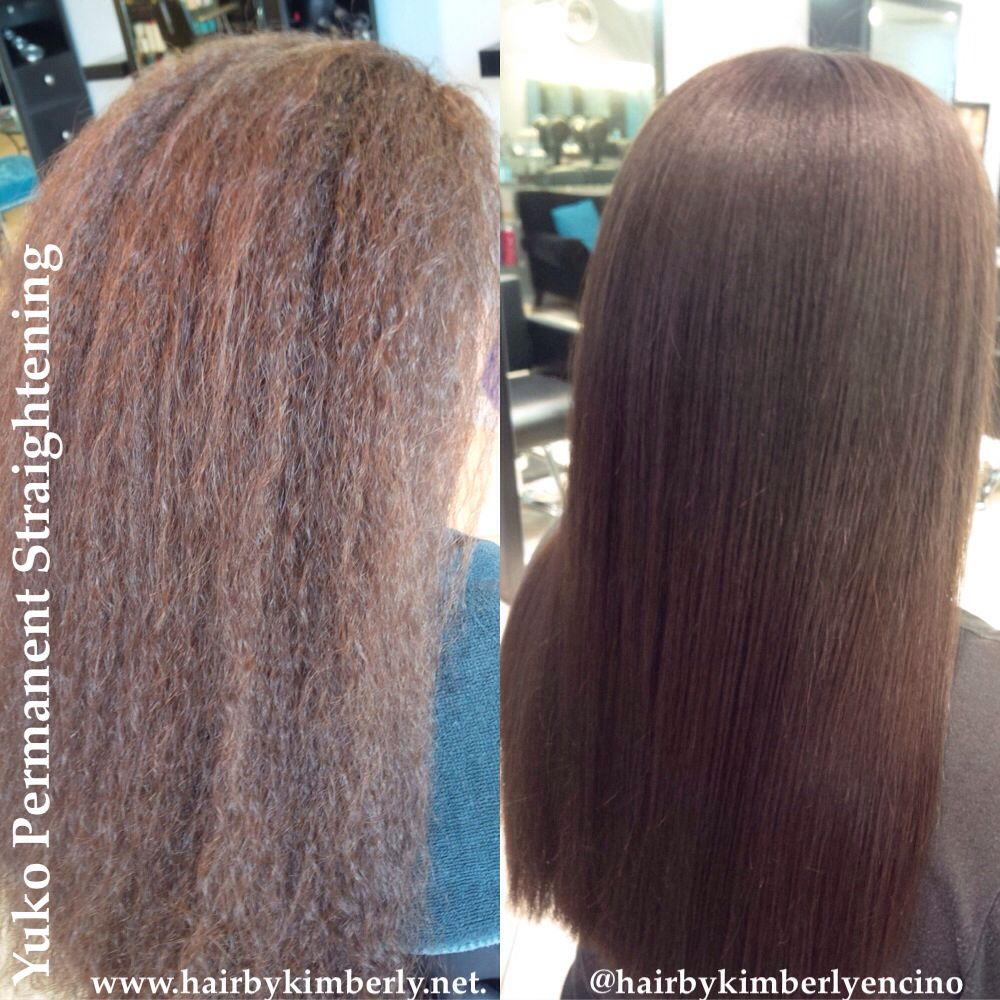 Straight permanent hair - Yuko Permanent Hair Straightening Our Best Results Is With The Innosys Istraight System