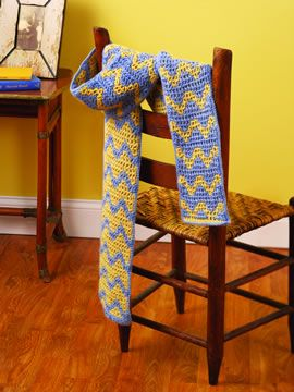 Interlocking Crochet™~ Crochet Reversible Fabrics with Different Designs on Each Side
