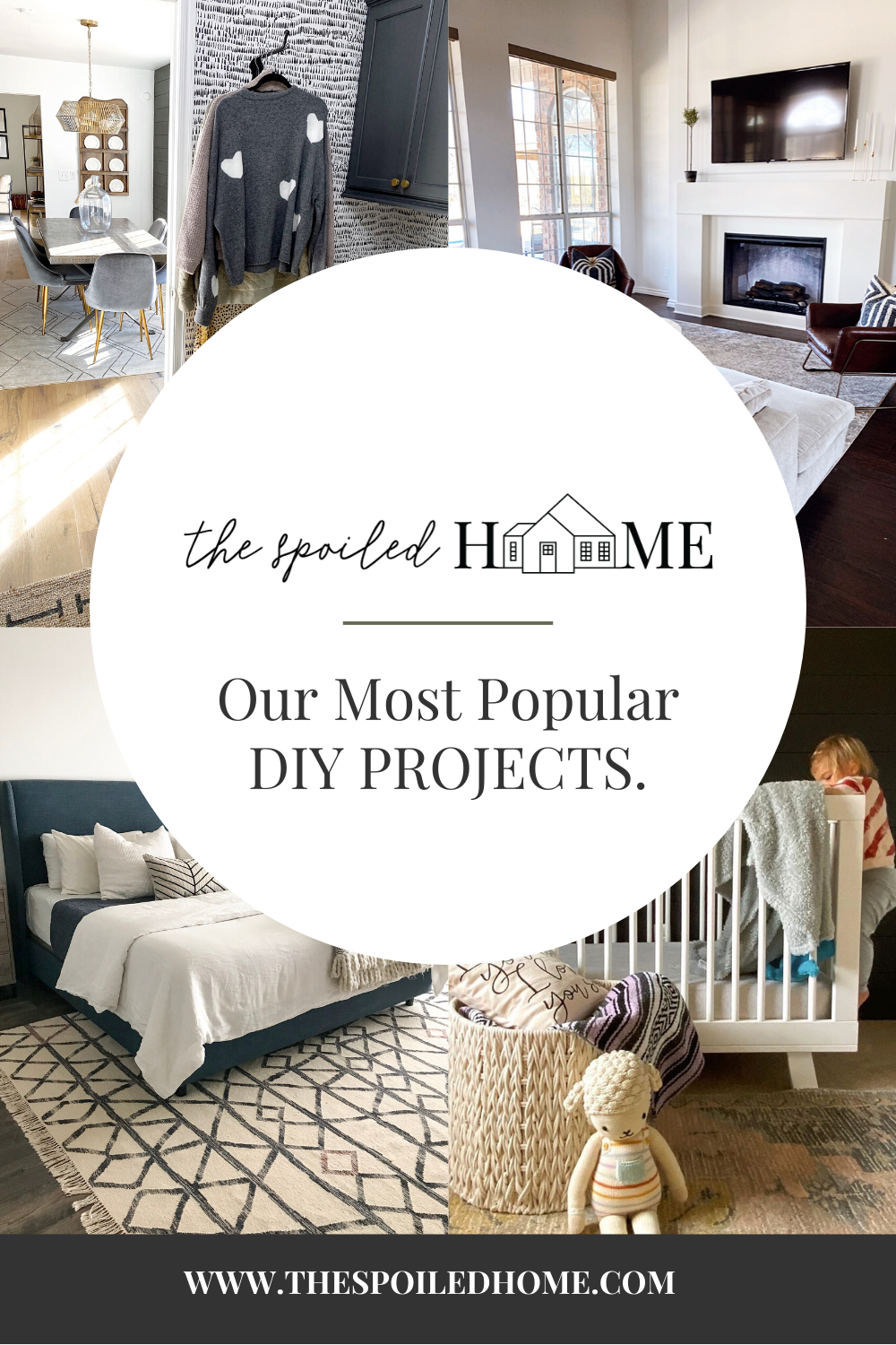 Since we started The Spoiled Home, Shalia and I have tackled a ton of DIY projects between the two of us. Throughout the years we have shared our ever-evolving interiors with you, as you cheered… The post Our Most Popular DIY Projects appeared first on The Spoiled Home.
