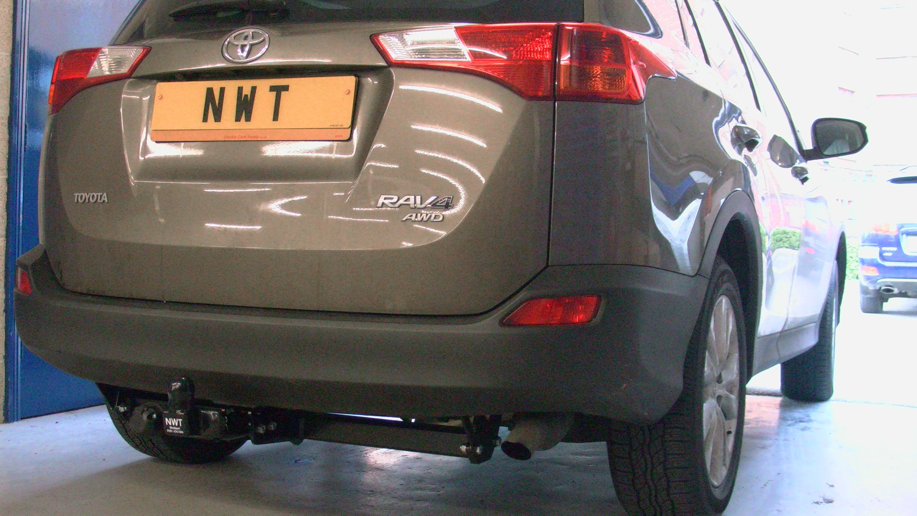 Toyota rav4 fitted with a witter flange ball towbar see all angles toyota rav4 fitted with a witter flange ball towbar see all angles at http cheapraybanclubmaster Choice Image