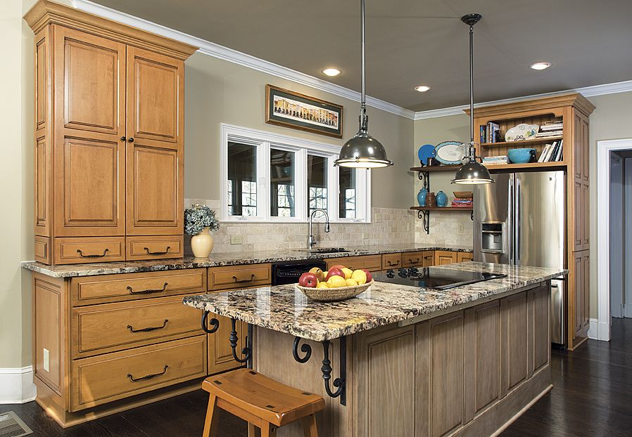 Country French Kitchen Remodel Suited For A Family Of 6! French